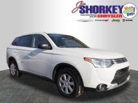 2015 Mitsubishi Outlander ES New Price! CARFAX
