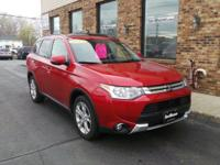 This 1 owner Mitsubishi Outlander SE Premium has our