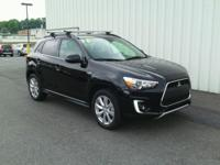 ONE OWNER!! 2015 MITSUBISHI OUTLANDER SPORT!! AWD, 4