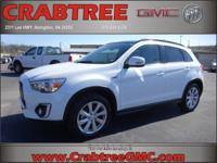 Options:  2015 Mitsubishi Outlander Sport 2.4 Gt|Awd