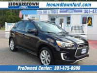 2015 Mitsubishi Outlander 2.4L Sport GT All Wheel Drive