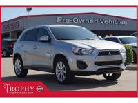 New Price! CARFAX One-Owner. Silver 2015 Mitsubishi