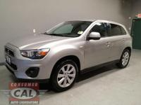Options:  2015 Mitsubishi Outlander Sport Awd 4Dr Cvt