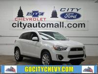 CARFAX One-Owner. White 2015 Mitsubishi Outlander Sport