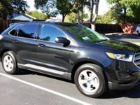 New 2015 black Ford Edge SE. 4 cylinder ecoboost!