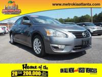 This 2015 Nissan Altima 2.5 S is a great option for