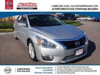 Nissan Certified, CVT with Xtronic, ABS brakes, Alloy