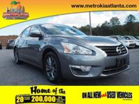 Get ready to go for a ride in this 2015 Nissan Altima