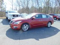 Our 2015 Nissan Altima 2.5 SV Sedan is displayed in