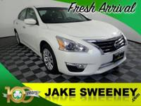 Our One Owner 2015 Nissan Altima 2.5 S Sedan is