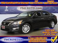 **** FRESH IN FOLKS! THIS 2015 NISSAN ALTIMA S HAS JUST