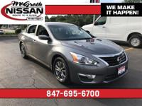 2015 Nissan Altima 2.5 S CARFAX One-Owner.38/27
