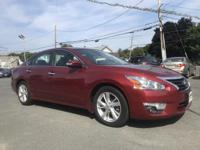 2015 Nissan Altima 2.5 SL Red CVT with Xtronic, ABS