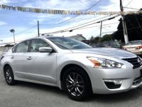 2015 Nissan Altima 2.5 Silver Special Edition CVT with