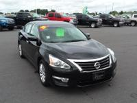 Black 2015 Nissan Altima 2.5 FWD CVT with Xtronic 2.5L