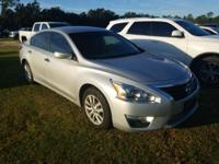Brilliant Silver 2015 Nissan Altima 2.5 FWD CVT with