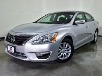 CARFAX One-Owner. Brilliant Silver 2015 Nissan Altima
