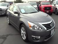 Step into the 2015 Nissan Altima! This sedan hits the