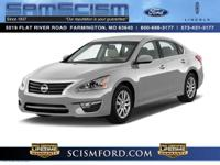 Stunning! This gas-saving 2015 Nissan Altima 2.5 S will