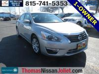 2015 Nissan Altima 2.5 S Silver Recent Arrival! ABS