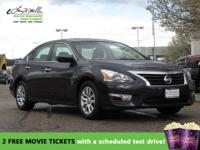 CarFax 1-Owner, This 2015 Nissan Altima will sell fast