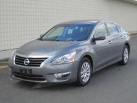 You are looking at a Steel Gray,  2015 Nissan Altima.