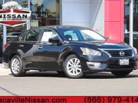 2015 Nissan AltimaCVT with Xtronic. 38/27 Highway/City