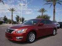 For a smoother ride, opt for this 2015 Nissan Altima