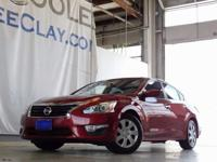 CARFAX One-Owner. Red 2015 Nissan Altima 2.5 FWD CVT
