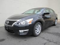 This 2015 Nissan Altima S is a One owner vehicle, and