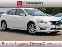 Clean CARFAX. Certified. Gray 2015 Nissan Altima 2.5 S