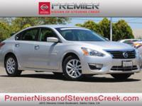 New Price! Clean CARFAX. Certified. Silver 2015 Nissan