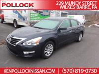 2015 Nissan Altima 2.5 S. Auto, Cruise, Traction