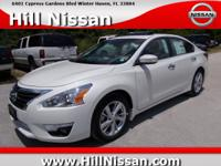 This White 2015 Nissan Altima SL might be just the 4 dr