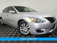 Clean CARFAX. CVT with Xtronic, Power Drivers Seat,