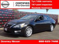 NISSAN CERTIFIED PRE-OWNED !!! Recent Arrival! 38/27