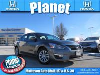 Recent Arrival! 2015 Nissan Altima 2.5 S Gray CVT with