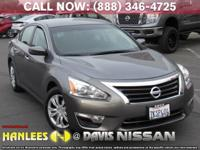 Options:  2015 Nissan Altima 2.5 S|Gray|Check Out This