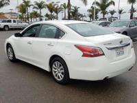 Options:  2015 Nissan Altima 2.5 S|White|Cvt With