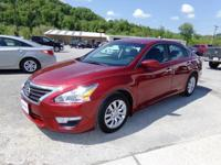 Cayenne Red 2015 Nissan Altima 2.5 S FWD CVT with