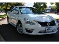 2015 Nissan Altima White. Good News! This certified