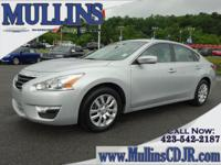 Altima 2.5 S, CVT with Xtronic, and Brilliant Silver.