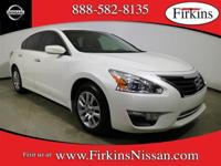 *NISSAN CERTIFIED*. Altima 2.5 S, 4D Sedan, 2.5L I4