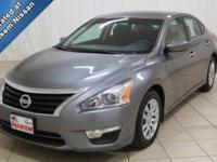 This 2015 Nissan Altima is a clean, low mileage vehicle