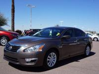 4 Cylinder  Options:  Cvt|This 2015 Nissan Altima 2.5 S