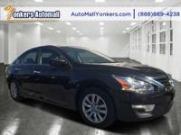 Drivers only for this sleek and dynamic 2015 Nissan