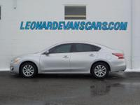 Options:  2015 Nissan Altima 2.5 S|Aluminum/Alloy