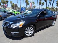 Options:  2015 Nissan Altima 2.5 S|Black|Cvt With