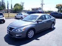 CARFAX One-Owner. 2015 Nissan Altima 2.5 S Gray One