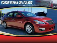 THIS ALTIMA IS CERTIFIED! CARFAX ONE OWNER! BACKUP